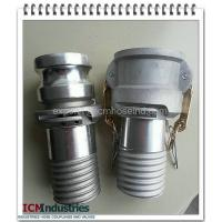 Buy cheap Aluminium scroll Composite hose coupling type C & E from wholesalers