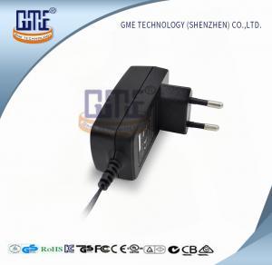 Quality GME Intertek 12v Power Adapter EU Plug 100% Full Load 63X39X52.5 mm for sale