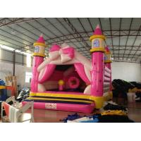 Quality Princess Kids Inflatable Bounce House Pink Bowknot Inflatable Jump Castle for sale