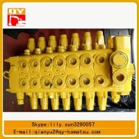 Quality komatsu hydraulic valves for excavator pc60-7 pc120-6 for sale