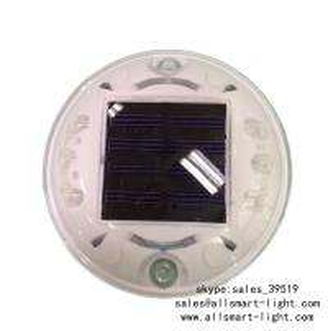 Quality Solar Road Stud ASD-004 6pcs LEDs Solar Road Marker Solar Cat's Lights Solar Accent Lights Solar Security Lights for sale
