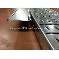 Quality Full Automatic Cable Tray Roll Forming Machine , Cable Tray Manufacturing Machine for sale