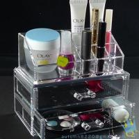 Quality countertop acrylic cosmetic organizer for sale