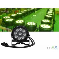 Quality Rgbw 4in1 Waterproof LED Par Cans Stage Lights Battery Powered for sale