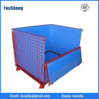 China Security customized qualified insulated roll container wire mesh cage for warehouse storage on sale