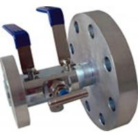 Double / Bleed Floating Ball Valve Stainless Steel DBB FLG  AISI 316 PTFE for sale