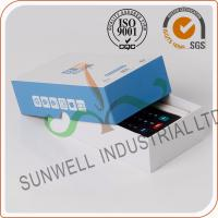 Quality Cardboard Handmade Electronics Packaging Boxes For Counter Packing Custom Printed for sale