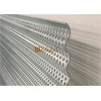 Quality Curved Decorative Aluminum Sheet with Punched Holes Perforation for Facade for sale