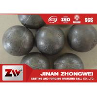 Quality 55-65HRC Hardness forged steel grinding ball , ball milling media for sale