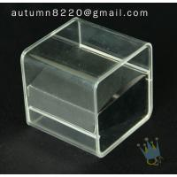 Quality BO (10) acrylic jewelry box for sale