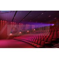 Quality Motion Theater Chair Cinema 3D System With Projectors / Sound System for sale