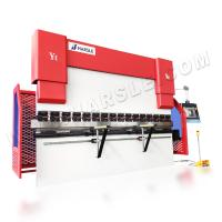 Quality High precision stainless steel plate processing 125T/3200 CNC hydraulic press brake machine for sale