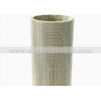 Quality Custom Ring Stainless Steel Filter Mesh High Temperature Oxidation Resistance for sale
