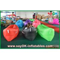 Quality Outdoor Beach Fast Filling Banana Sleeping Air Bag 200cm *90cm for sale