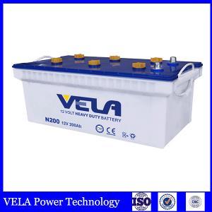 China Japanese Standard accumulator dry battery N200 12V 200ah for truck battery rechargable car battery on sale