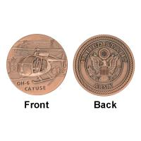 Army Air Force Cayuse OH - 6 Collectable Coins , Military Challenge Coins Custom for sale