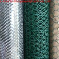 Buy cheap wire mesh chicken , poultry wire/6 foot chicken wire fence/green mesh fencing/hex wire fencing/cheap poultry fencing from wholesalers