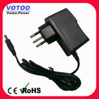 Quality 9V 1A Brazil Plug AC DC Power Adapter Power Source for LCD Minitor for sale