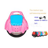 Quality Pink solo wheel foldable Stand Up Scooter , Self Balancing Electric monocycle for sale