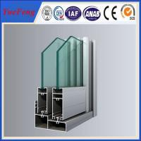 Quality 1.6mm thickness thermal break aluminium doors and windows for sale