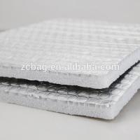 Buy Reusable Eco Double Reflective Insulation Building xpe foam multi layer isolation Wrap Insulation Air Cell Silver materi at wholesale prices