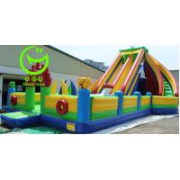 Buy cheap Air bouncer Inflatable trampoline with warranty 24months from GREAT TOYS LTD from wholesalers