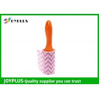 Quality Disposable Lint Roller Remover With Printe Paper Multi Function 6CM / 10CM / 16CM for sale