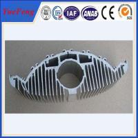 Quality Aluminium extruded profile for heat dissipation, extruded profile aluminum heat sink for sale