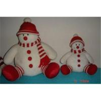 Buy cheap Custom Design Snowman in Red Hat Christmas Gift from wholesalers