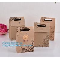 China shopping paper bags with flat twill handle shopping paper bag,wholesale paper wine bottle packaging bag with logo printe on sale