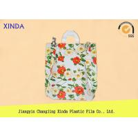 Quality High-Density 30*40cm die cut handle strong medium orange bags for snack gift pack for sale