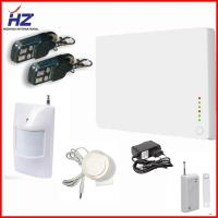 China Smart Mobile Call GSM quad band home alarm system wireless on sale
