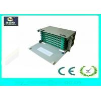 Quality 72 Cores Rack Mount / Wall Mount ODF Optical Distribution Frame FC SC LC For FTTH for sale