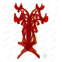 Quality CH (53) red Acrylic candle holder for sale