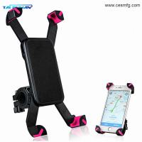 Quality 360 rotation universal smart phone mount motorcycle bike phone mount bicycle holder for sale