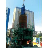 Quality 1.2m-2.6m Dia Bored Pile Foundation Casing Rotator 750 mm Pulling Stroke for sale