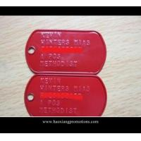 Quality Addding epoxy design dog tag metal , Make your own design metal tag for sale