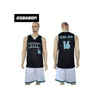 Quality Wholesale Sublimation Dri Fit Shirts Basketball Jersey For Men for sale