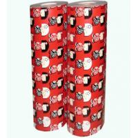 Quality Christmas gift wrapping paper jumbo roll wholesale for sale