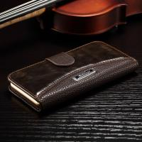 Quality Anti - Dirt Iphone 6 Leather Wallet Case , Colorful Crazy Horse Leather Wallet Case for sale