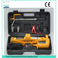 Buy cheap automatic emergency tools2 tons electric scissor  lifting car single jack with wheel nut wrench from wholesalers