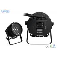 Quality Five In One Rgbwa LED Par Stage Lights / Dmx Led Par High Power for sale