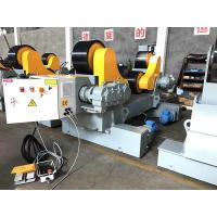 Quality 80000 lbs / 40T Self Aligning Welding Rotator Pipe Stand Roller For Tank Welding for sale