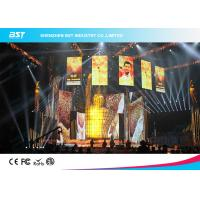 Buy cheap 1200 Nits Brightness P3.91 Led Video Screen Rental For Advertising Media from wholesalers