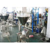 China Vertical Milk  Automatic Powder Packing Machine 380 / 220V 0.9KW Low Maintenance on sale