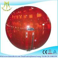 Quality Hansel Thick PVC Inflatable Water Rolling Ball For Water Games for sale