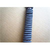 Buy Blue 3Mm Waxed Cotton Cords / Elastic Drawstring Cord Polyester at wholesale prices