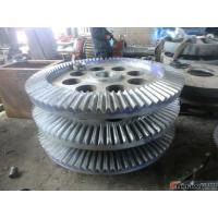 Quality CNC Machining Heavy Straight Bevel Gear , Ground Tooth Spiral Bevel Pinion for sale