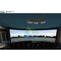 Quality Special Effect 4D Cinema System With Motion Chair , Flat / Arc/ Circular / Globular Screen for sale