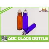 Buy Hot Sale 3ml 5ml 10ml Empty Roll On Glass Bottle With Screw Cap,Custom Samples Essential Oil Bottle With Your Logo at wholesale prices